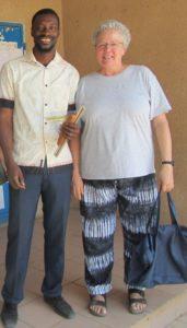 Mathe-Lehrer Ousainou Mbye