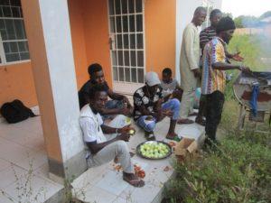Zubereitung des Festmahl